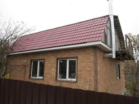 Жаворонки. Дом с магистральным газом под отделку. 7 соток. 20 км. МКАД - Фото 1