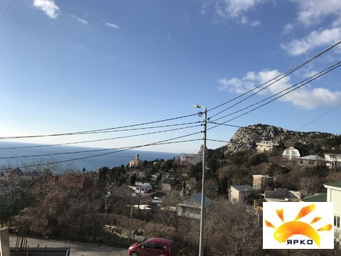 Продается земельный участок в Симеизе с видом на море. - Фото 1