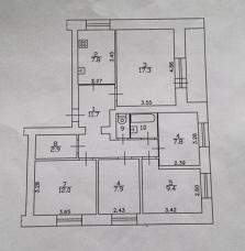 Продается пятикомнатная квартира - Фото 5