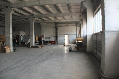 Сдам теплое складское помещение 750 м2 класса В+ - Фото 1