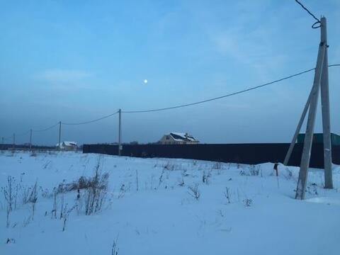 Участок 25 соток, с. Шарапово Чеховский р-н, 55 км от МКАД - Фото 4