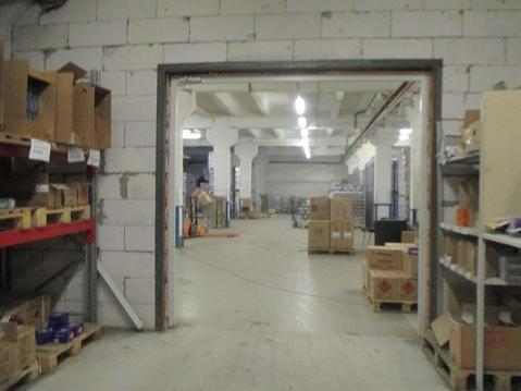 Произв-складское помещение 600м2, 100квт, рядом КАД и зсд - Фото 1