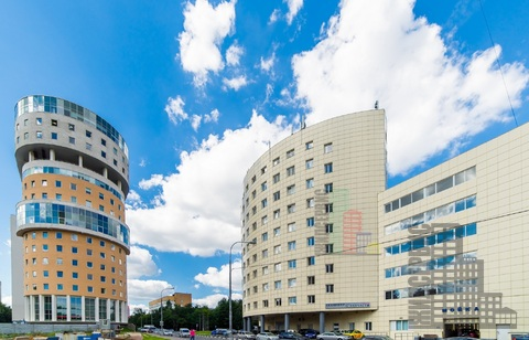 Офис 56,5м, юрадрес, метро Калужская, БЦ с парковкой - Фото 1