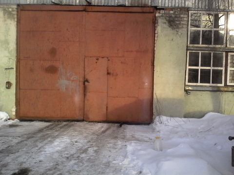 Производственное помещение 460 кв.м. Отопление, вода, охрана, кран-балка - Фото 1