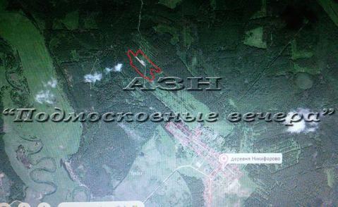 Горьковское ш. 100 км от МКАД, Никифорово, Участок 650 сот. - Фото 1