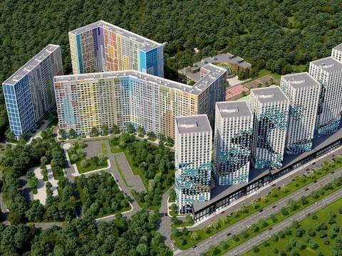 1к квартира 40,1 кв.м, рядом с метро Улица Скобелевская - Фото 2