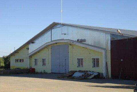 Продается производственно-складской комплекс в Малоярославецком районе - Фото 1