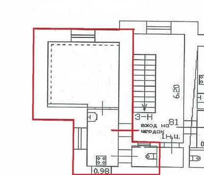 Студия в историческом центре 19,7 кв.м. Евроремонт - Фото 3