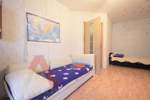 Пп однокомнатная квартира 46 кв.м. в кирпичном доме 5мин метро купчино - Фото 5