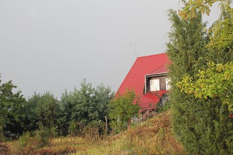 Продается большой участок с фундаментом под дом в деревне Голубино - Фото 1