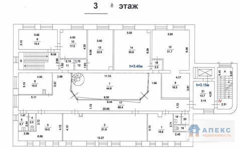 Продажа офиса пл. 1465 м2 м. Шаболовская в особняке в Донской - Фото 4