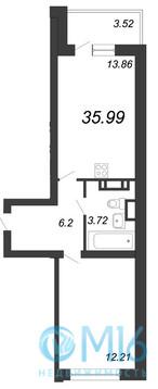Объявление №45538450: Квартира 1 комн. Санкт-Петербург, ул. Невзоровой,