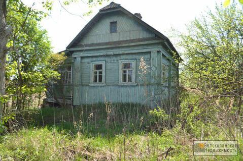 Участок 30сот с домом под снос в деревне Терехово (600м до реки Руза) - Фото 1