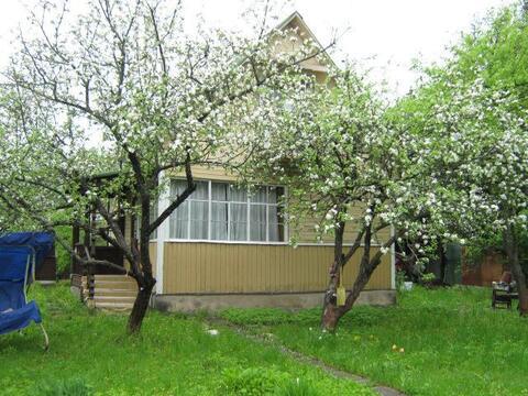 Уютная дача, участок сад 6 соток, баня. 38 км. от МКАД - Фото 1