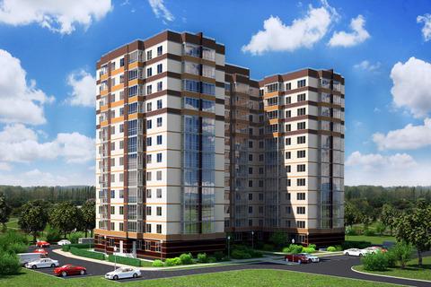 Продается 1 к.кв. 43 кв.м. в ЖК Янинский каскад-4 на 7 этаже в Янино-1 - Фото 2
