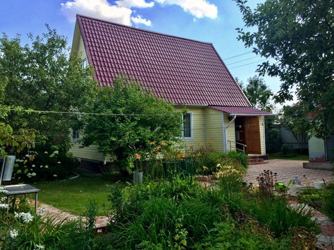 Дом с газом для круглогодичного проживания в Рузском р-не - Фото 2
