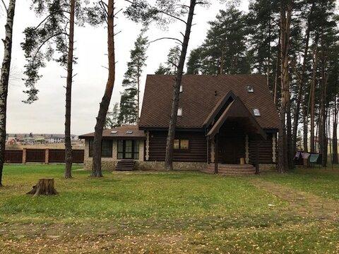 Дом 300 кв.м, сосновый бор, д. Репниково Чеховский р-н - Фото 3