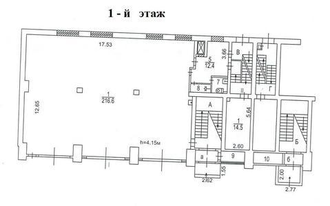 Псн,878 кв.м.-арендный бизнес, м.Коломенская, пр-т Андропова - Фото 3