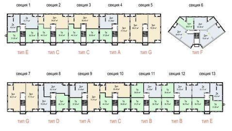 Продажа 1-комнатной квартиры, 36.79 м2, г Киров, Севастопольская, д. . - Фото 3