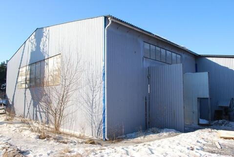 Утепленное производственное помещение 1000 кв.м. 2 кран-балки, 400ква - Фото 2