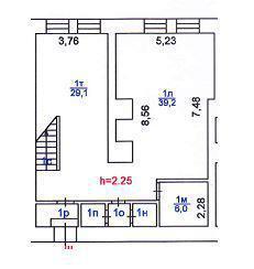 Офисный блок 168 м2, b-класс, 8 м.п. от Маяковской - Фото 5