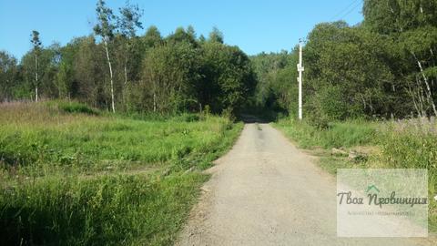 Участок 20 соток у Хвойного леса в селе Ивановское Ступинского района - Фото 1
