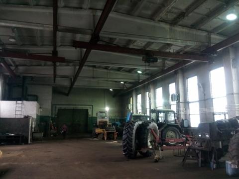 Производственное отапливаемое помещение в Колпино 1500м2 с кран-балкой - Фото 2