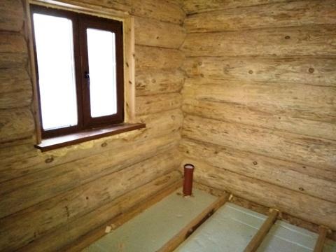 Продается 2-х этажный бревенчатый коттедж (ручная рубка) с баней - Фото 3