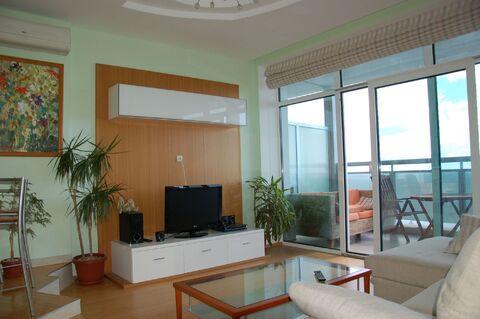 Видовая квартира-студия в современном жилом комплексе в поселке Кореиз - Фото 2