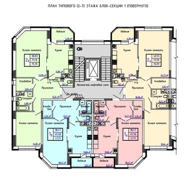 Купить 2-комнатную в Селятино, монолит, выдача ключей - Фото 3