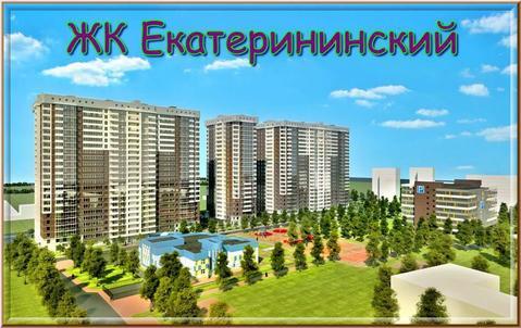 1к.кв. 34.1кв.м Бестужевская 52, ЖК Екатерининский - Фото 1