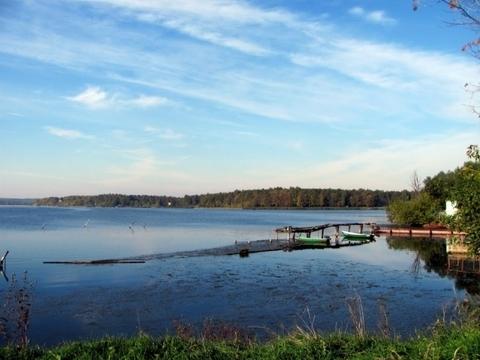 140 соток первая линия озера Сенеж - Фото 1