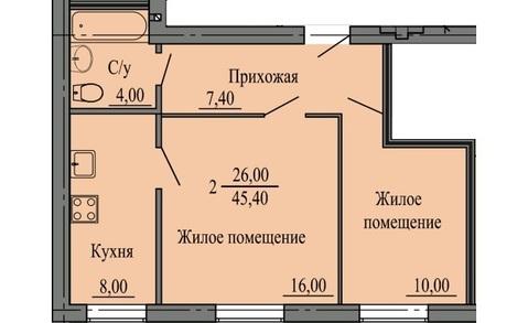 Продам 2-х комнатную в новом доме - Фото 2