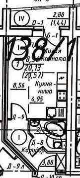 Продажа 1-комнатной квартиры, 21.57 м2, г Киров, Михеева, д. 20а - Фото 2