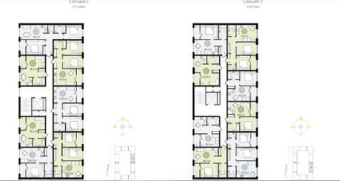2-х комнатная квартира 60.8 м.кв. г. Видное - Фото 4
