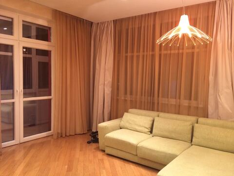 Квартира с готовой евроотделкой 105 м кв кухней от застройщика м. фили - Фото 5