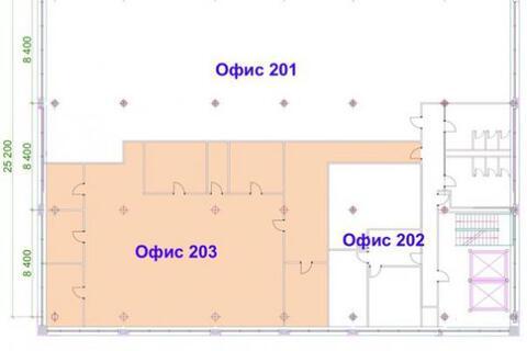 Офис 330кв.м, Бизнес-центр, 1-я линия, улица Радио 24, этаж 2 - Фото 1