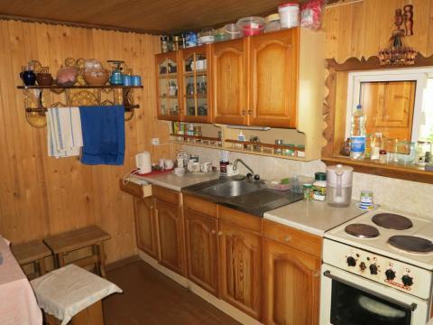 Добротный дом 140 кв.м, баня, красивый участок. Лес.52 км. - Фото 2