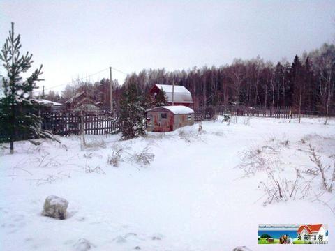 Уютный участок 12,5 соток у леса рядом с рекой Искона, д. Пуршево - Фото 3