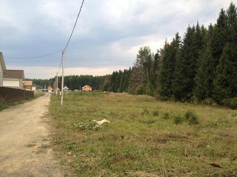 Шикарный участок в деревне Повадино - Фото 1