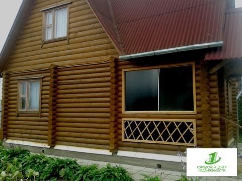Новый дом из оцилиндрованного бревна в Михалево - Фото 2