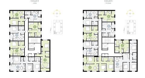 1 комнатная квартира в Видном - Фото 3