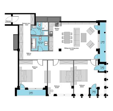 256 550 €, Продажа квартиры, Купить квартиру Рига, Латвия по недорогой цене, ID объекта - 313138200 - Фото 1