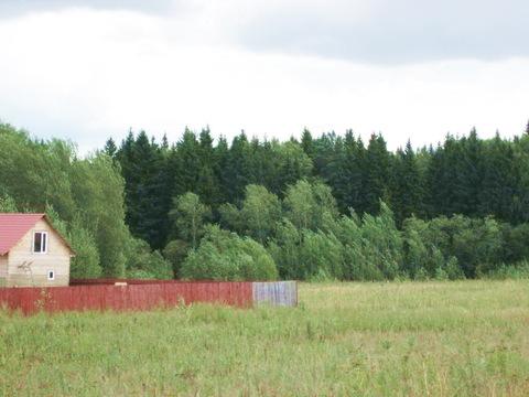 15 соток в д. Бушарино, земли населенных пунктов для ИЖС, Москва р - Фото 1
