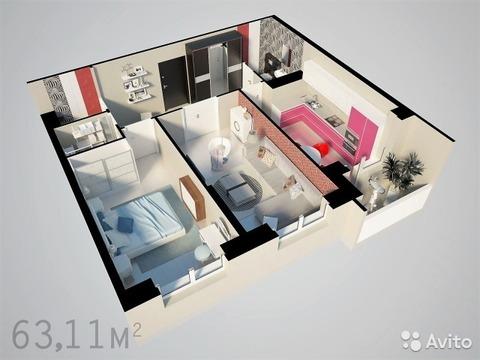 2-комнатная квартира в новом ЖК - Фото 2