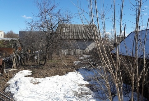 Участок в центре г.Бор со старым домом - Фото 1