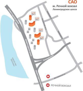 Продажа нежилого помещения 73м2 м.Речной вокзал Ленинградское ш 124к3 - Фото 5