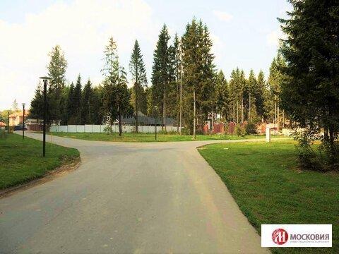Участок 12,8 соток в поселке, окруженном хвойным лесом, Киевское ш. - Фото 3