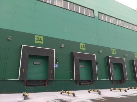 Склад класса А 500 кв.м, установлены стеллажи - Фото 3