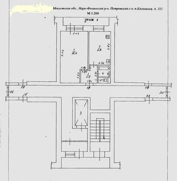 1 комнатная квартира в пос. Калининец, 252 - Фото 3